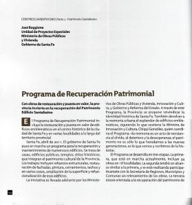 2011 - Libro 0341 - capítulo Patrimonio Santafesino pag 254