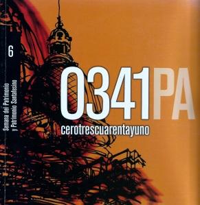 2011 - Libro 0341 - capítulo Patrimonio Santafesino (tapa)